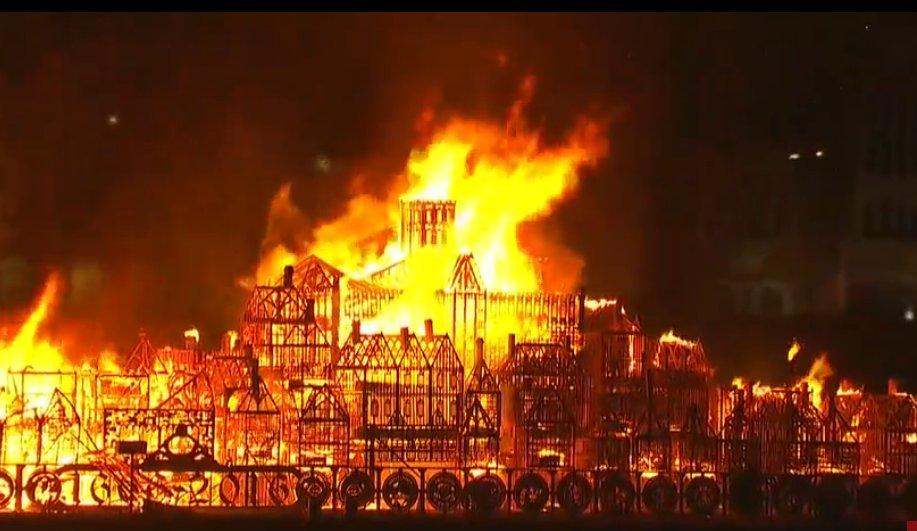 Пожар лондона картинки