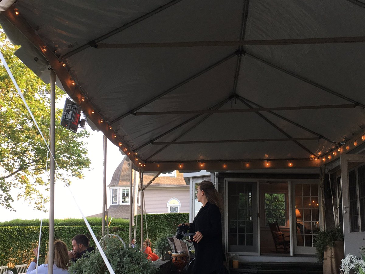 Regulations run amok: RI makes tent company hang fire exit sign on this tent and requires inspection by fire dept: https://t.co/cWByr7rvRi