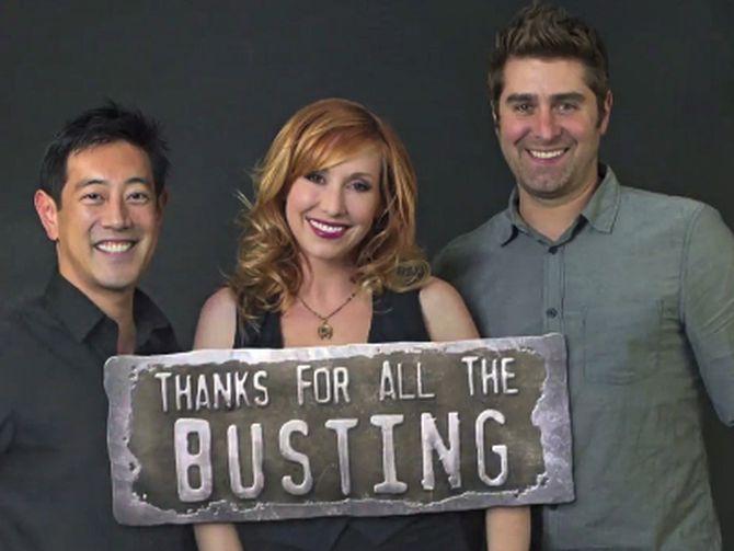 Mythbusters' B-Team Adam Jamie : Mythbusters team Netflix