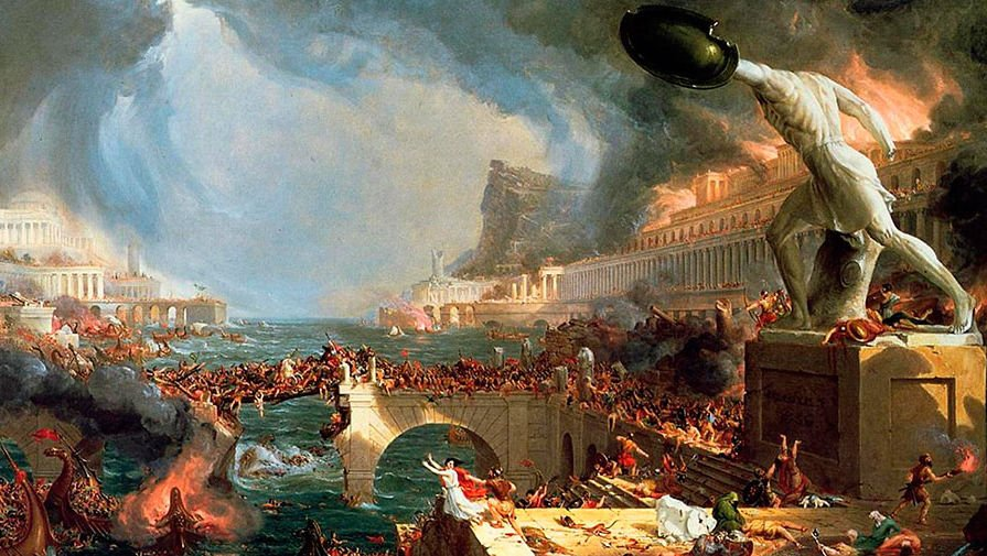 A Short Timeline of the Fall of the Roman Empire  ThoughtCo