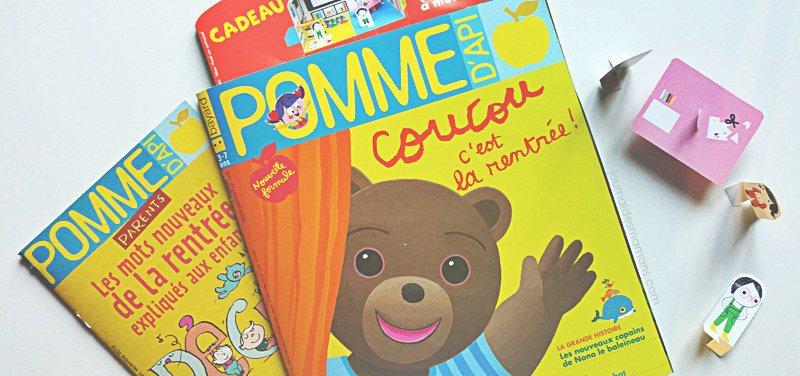 Le #magazine préféré des 3-7 ans #PommedApi fait peau neuve !  http:// bit.ly/2c16V6U  &nbsp;   @Bayard_Jeunesse<br>http://pic.twitter.com/2XNQu33m44