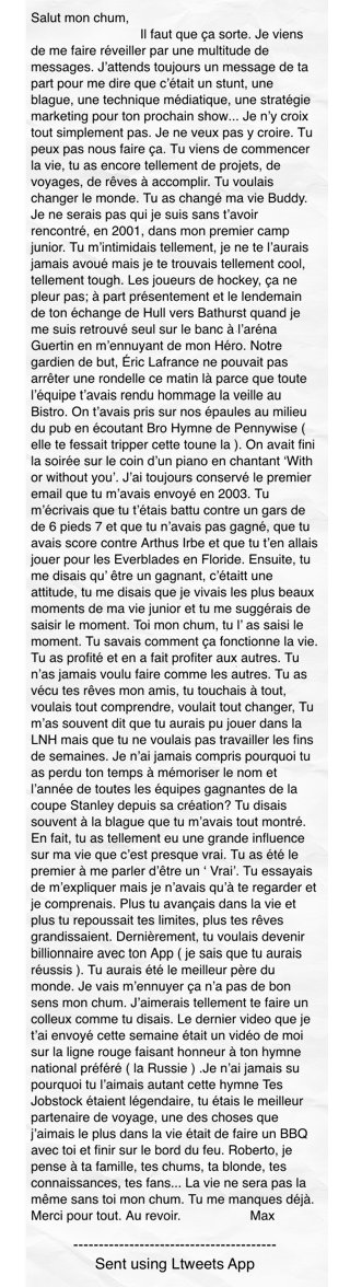 Salut mon chum,                                #ltw https://t.co/wttmDE8snY