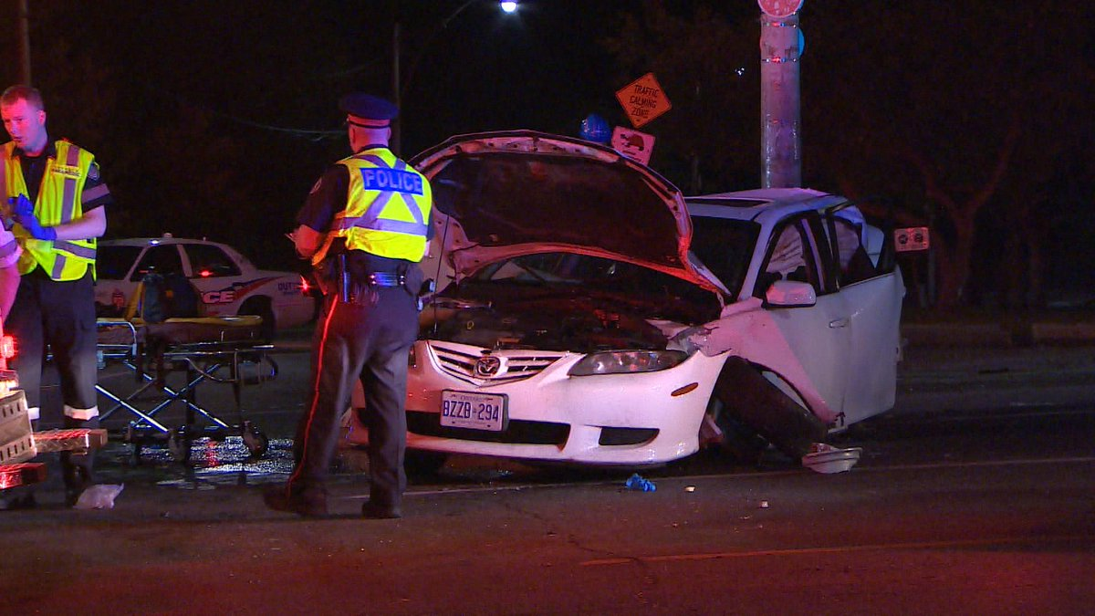 Fatal crash: mount pleasant at roxborough  1 pronounced on scene  3