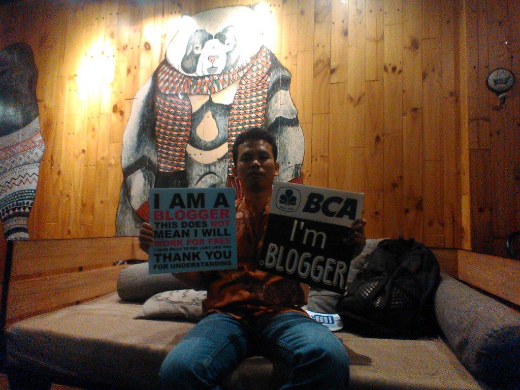 Ngobrol bareng Blogger Yogyakarta: dari Artwork sampai Sakuku BCA