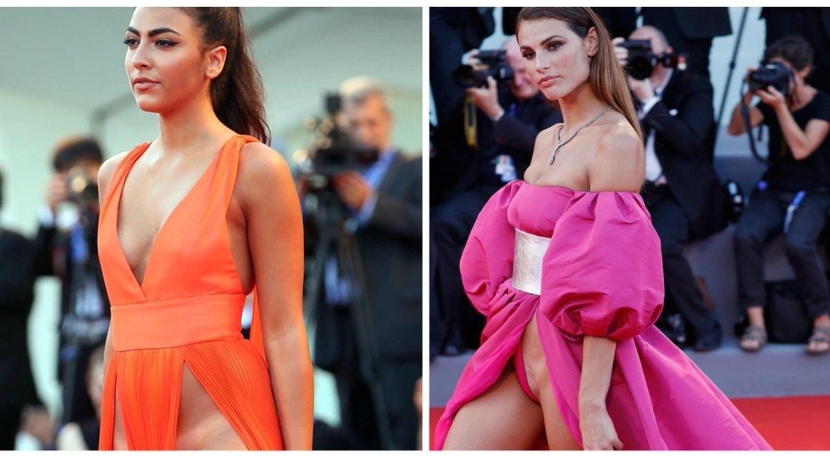 Фото и видео у моделей под платьем — photo 1