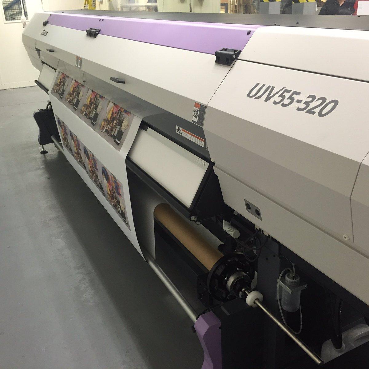 Mimaki UJV55-320 printer