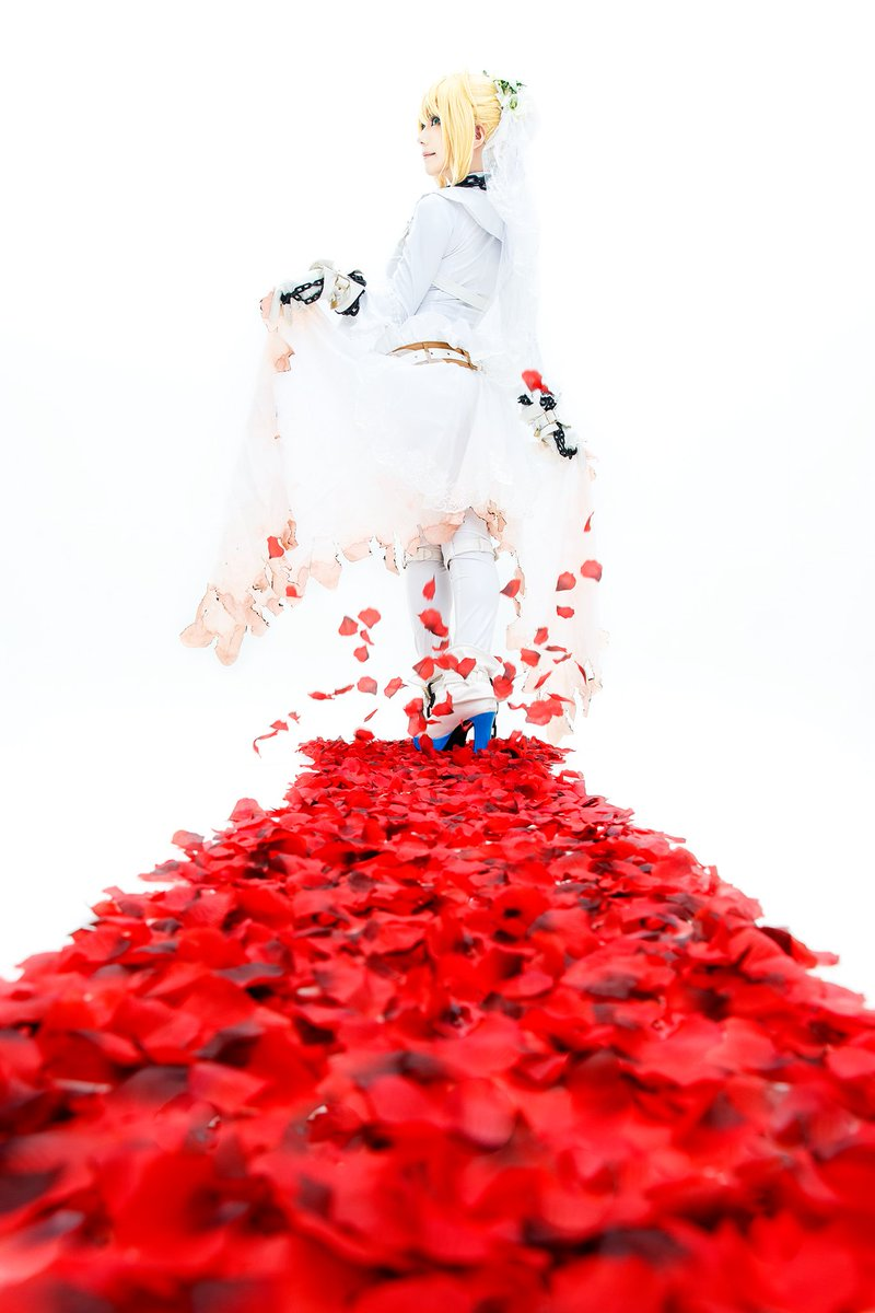 -拘束の花嫁衣裳- ネロ・クラウディウス  Fate/EXTRA CCC model:ゆうさん(@yu_know_what)