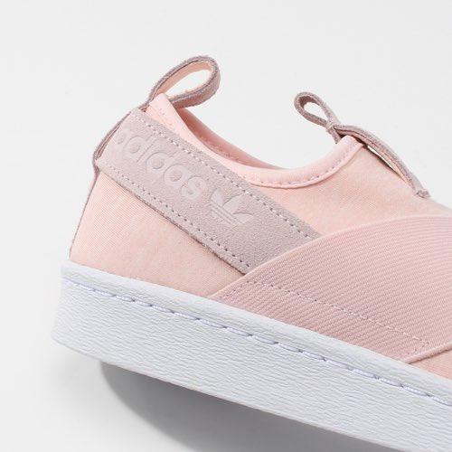 Adidas Superstar Slip On Peach