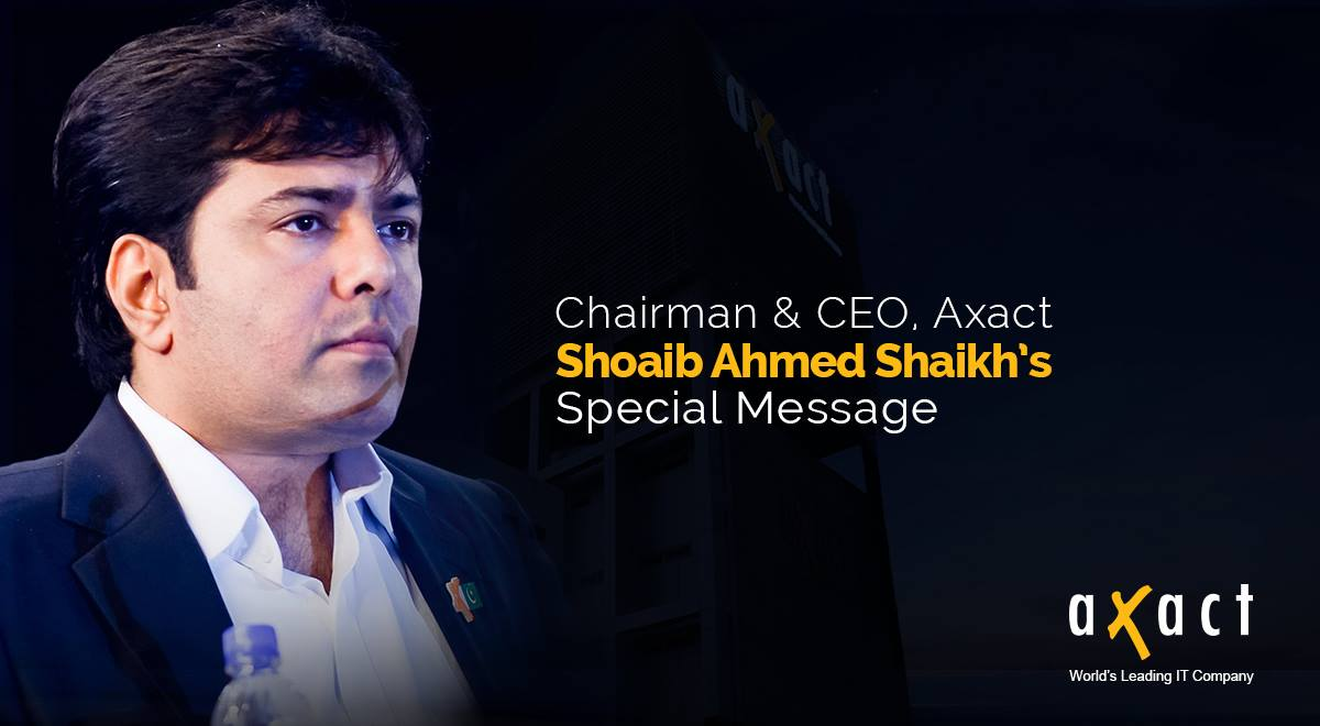 Chairman and CEO of Axact
