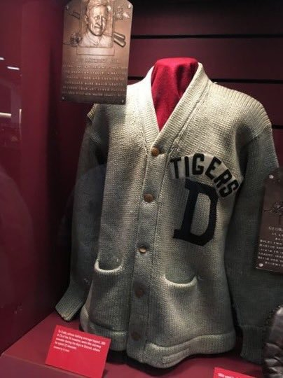 New blog post is up!  The Hall of Fame Knitter: Work-in-Progress: Ty Cobb Sweater https://t.co/L4ptr8Gd6k https://t.co/IMyO6UUnem