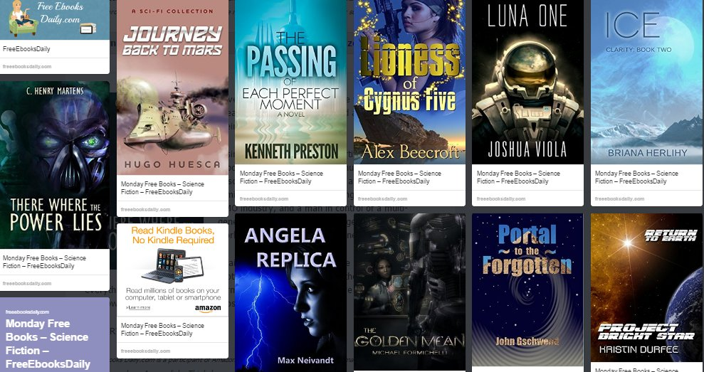 10 FREE Books - Science Fiction https://t.co/zbSa46pmiS #freekindlebooks #scifi #amazon https://t.co/Y9TbjmPnGQ