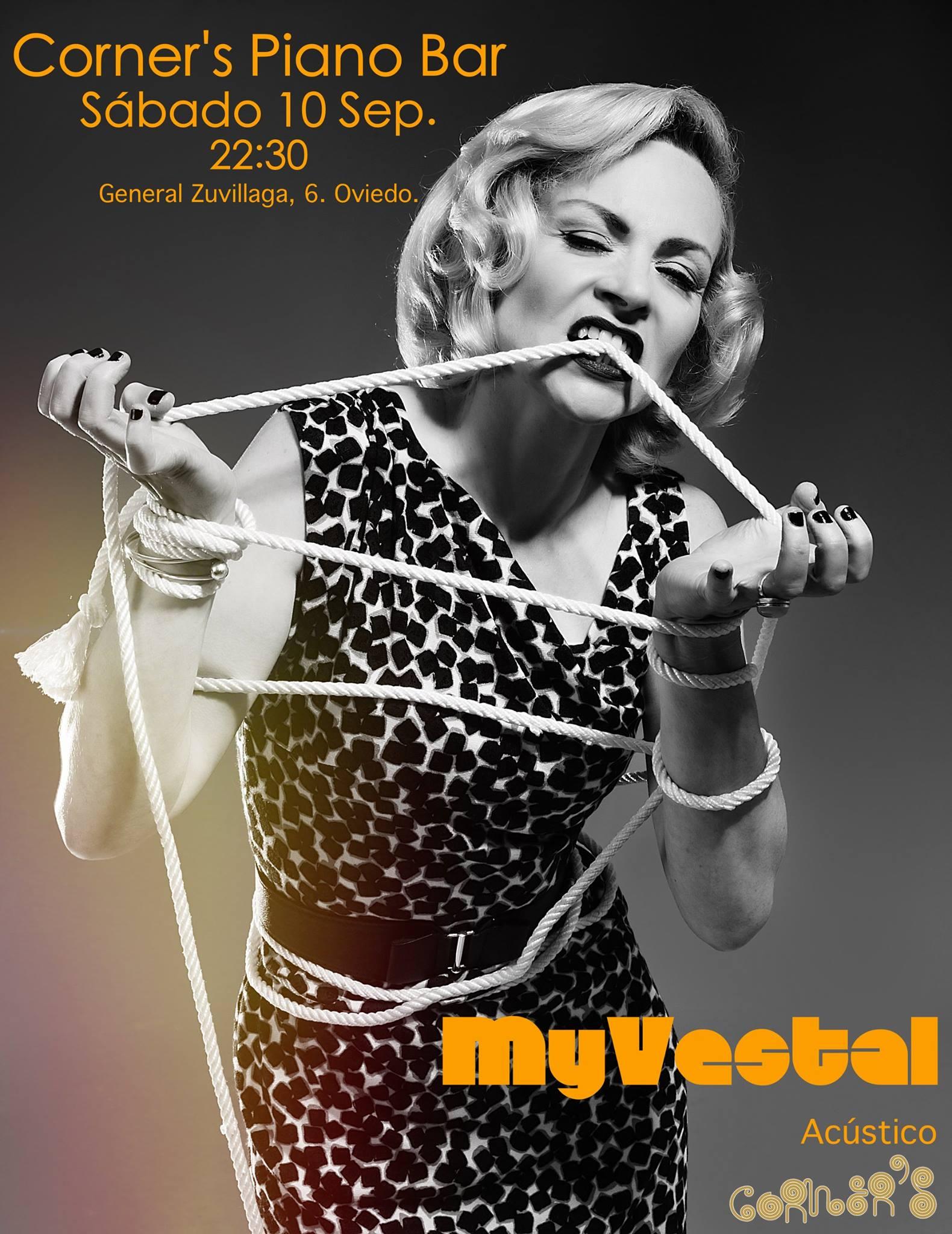 Concierto de MyVestal en Corner's Piano Bar