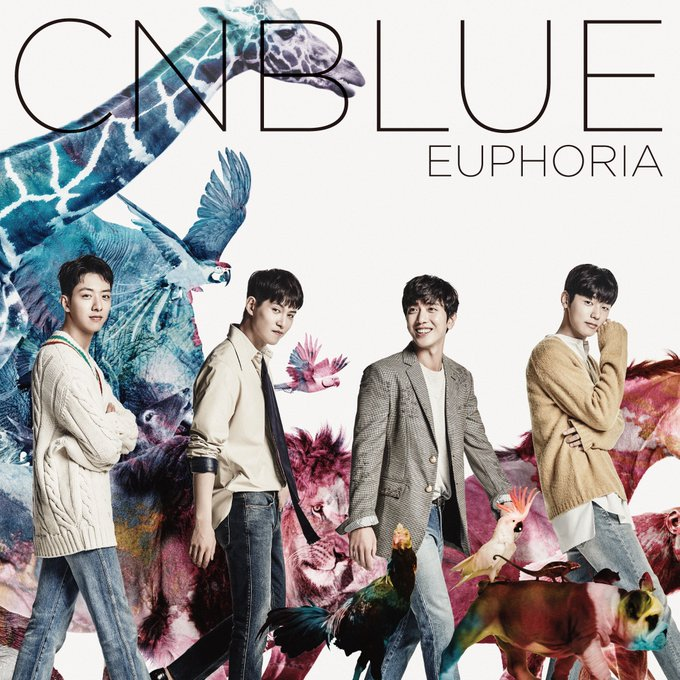 "View image on Twitter {kpop-india}CNBLUE to Release 5th Japanese Album, ""Euphoria"" on October 19th!Crlxo29UkAAbf7s"