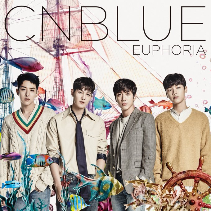 "View image on Twitter {kpop-india}CNBLUE to Release 5th Japanese Album, ""Euphoria"" on October 19th!Crlxpu4UAAA UwM"