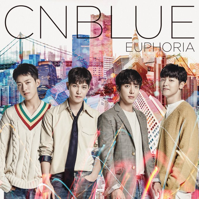 "View image on Twitter {kpop-india}CNBLUE to Release 5th Japanese Album, ""Euphoria"" on October 19th!CrlxqrVUAAAsZ46"