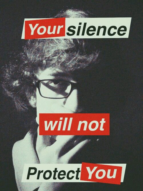 audre lorde your silence will not protect you essay Your silence will not protect you: essays and poems [audre lorde, reni eddo-lodge, sara ahmed] on amazoncom free shipping on qualifying offers.
