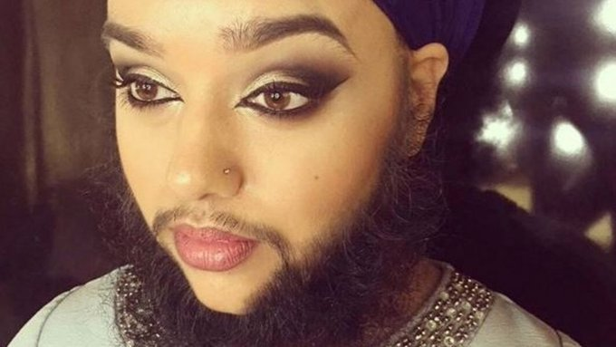 """It's not easy being different"": Harnaam Kaur on embracing her natural beauty https://t.co/QfCOTylr9r"