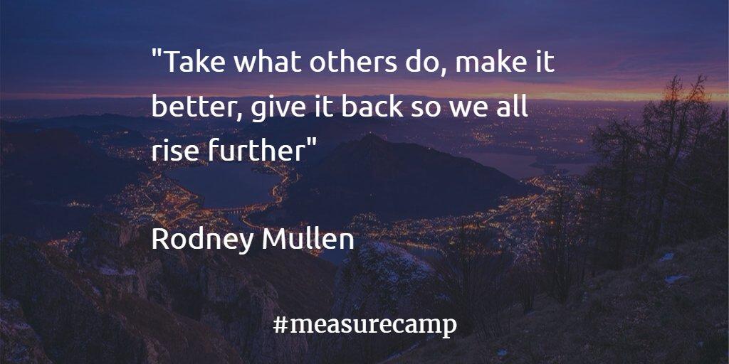 Spirit of #Measurecamp Day 1 https://t.co/1TBAdker7q