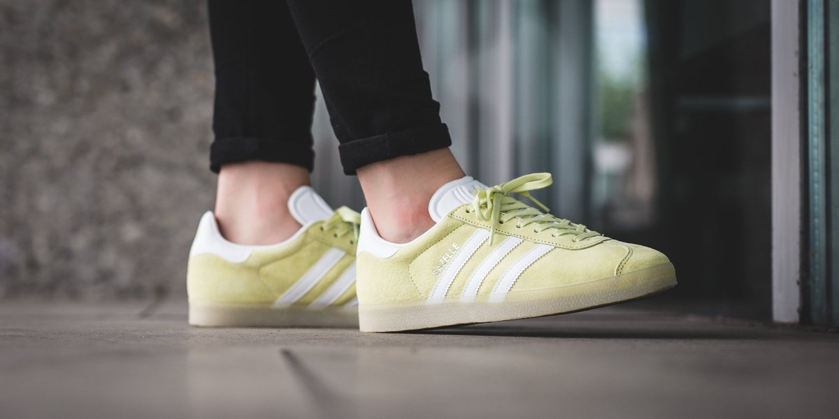 adidas gazelle ice yellow