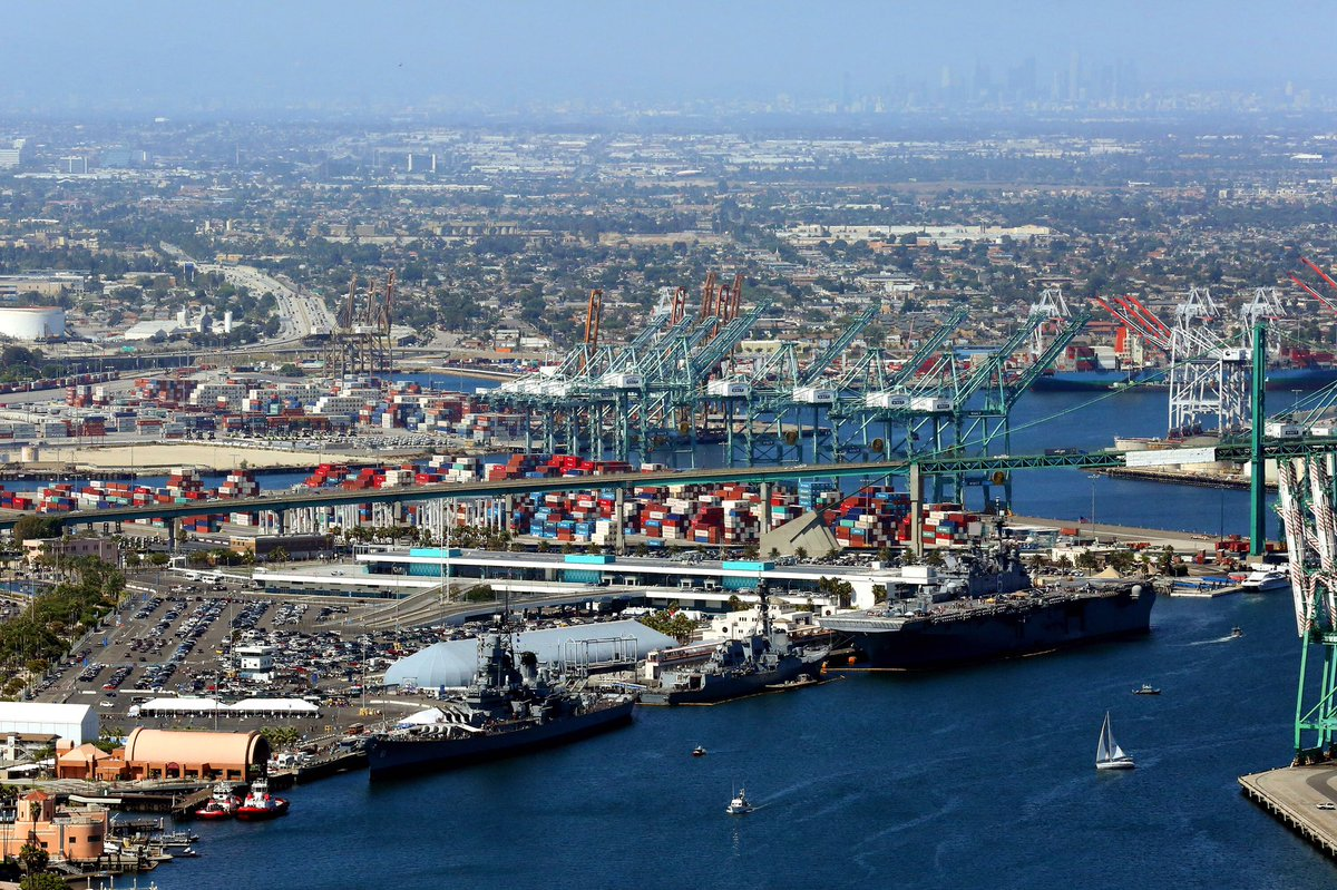 Happy Labor Day from the #PortofLA! Today is the last day of @LAFleetWeek; the event opens at 11 a.m. See you there! https://t.co/9fx6StHiDe
