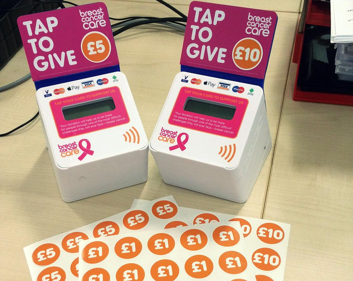 Very cool new contactless donation points from @BCCare! Need to see more charities embracing these https://t.co/9qXi4Sekv4