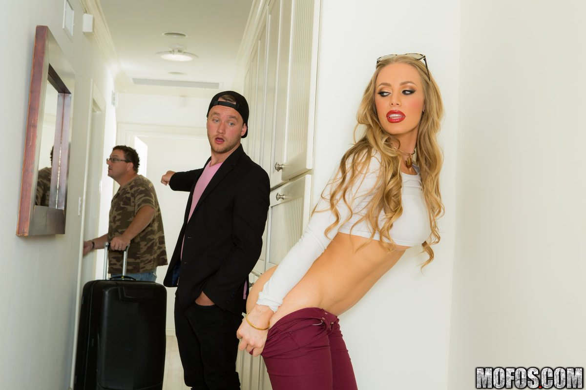 Nicole aniston from mofos bent over and plowed