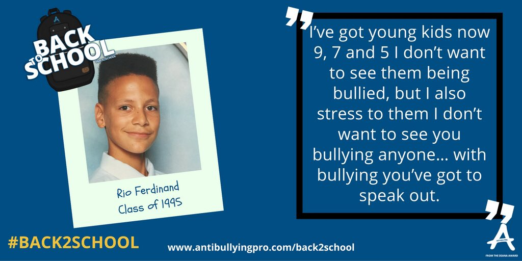 10million kids going #Back2School. I teamed up with @AntiBullyingPro Find my video/advice: https://t.co/WxWwvs5oma https://t.co/2OqfeBbRJa