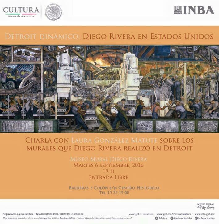 Museo Diego Rivera On Twitter Te Esperamos En Esta Charla Con