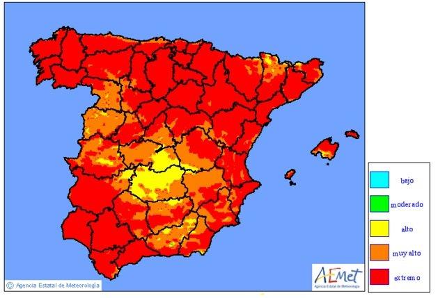 ¡Alerta en Menorca! Riesgo extremo de incendio. https://t.co/QXktX3bzMo https://t.co/ZybOjR506Y