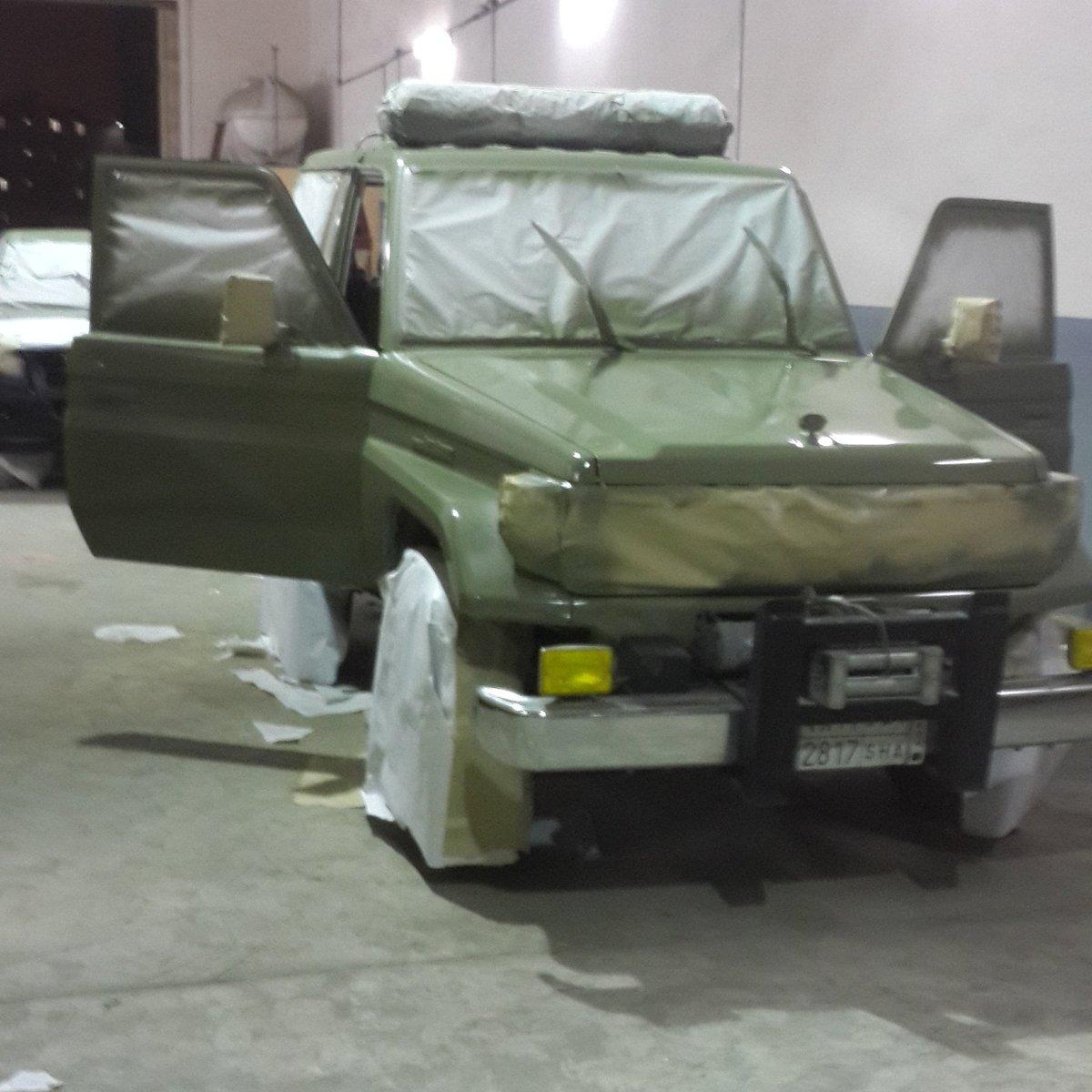 مؤسسة مخارط الريادة On Twitter صبغ سيارات الدفاع المدني السعودي