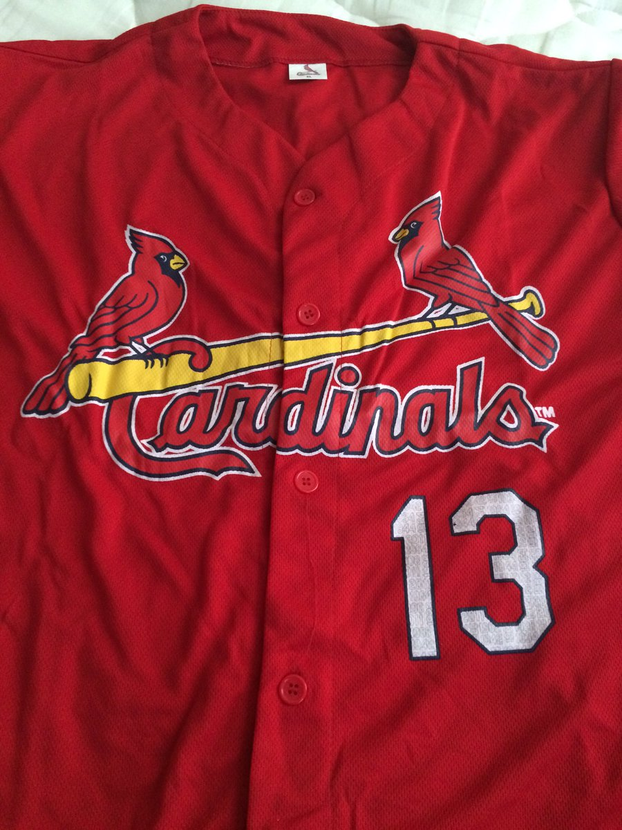 I'll give away this Matt Carpenter BP jersey during the game this afternoon... RT this to enter to win. #STLCards https://t.co/CP0rIB1hTi