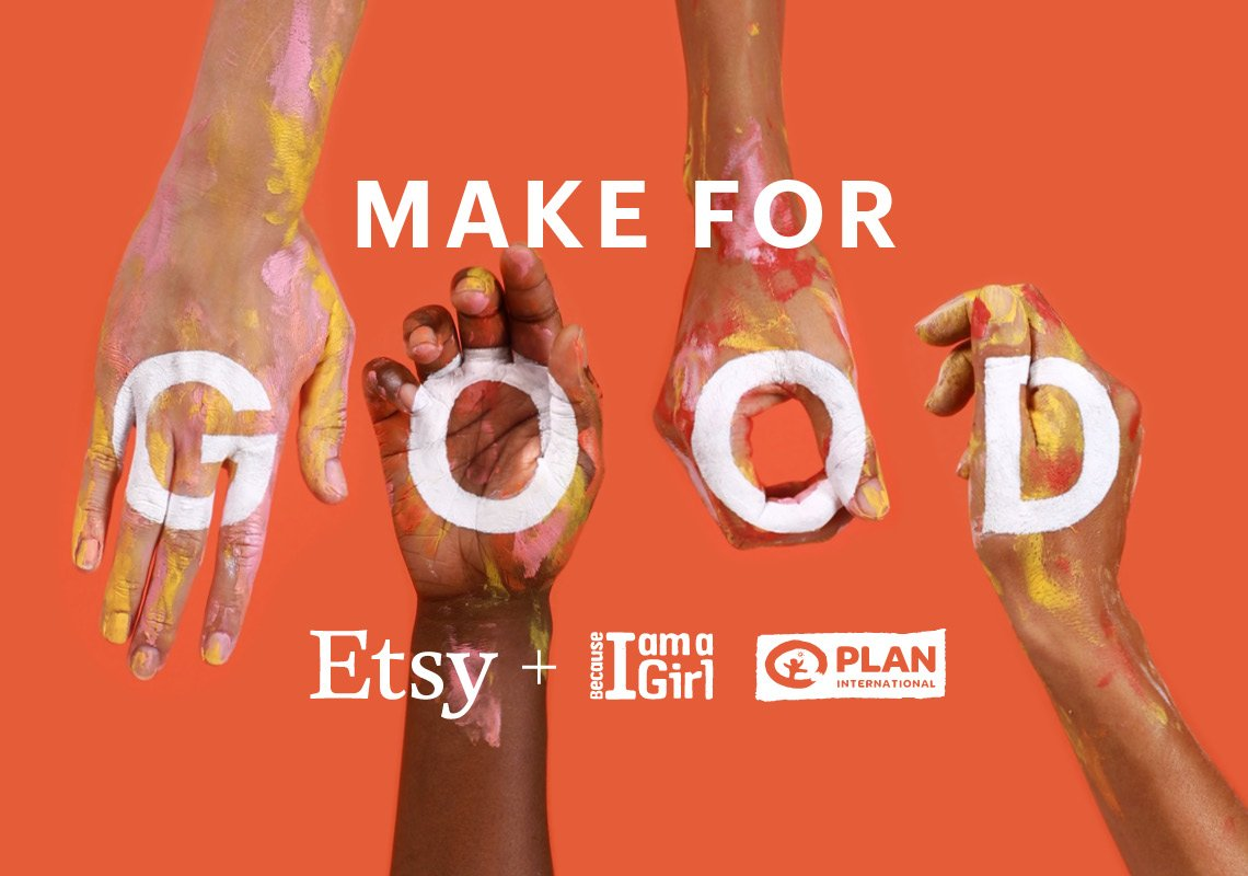 Shop the #makeforgood collection via https://t.co/pAYh5EycNA Help us create brighter futures with @PlanAustralia. https://t.co/YXjg4Pg2J5