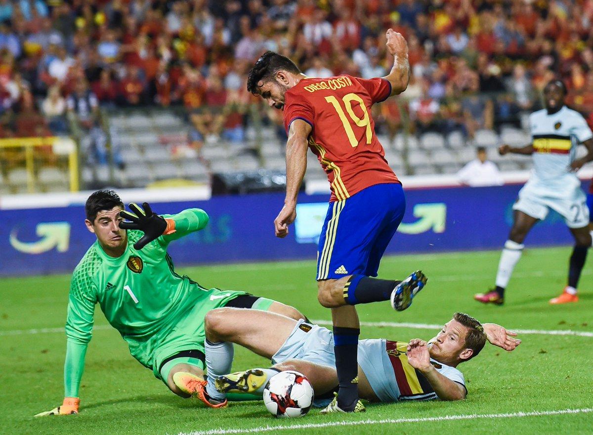 Бельгия испания 1 сентября 2016