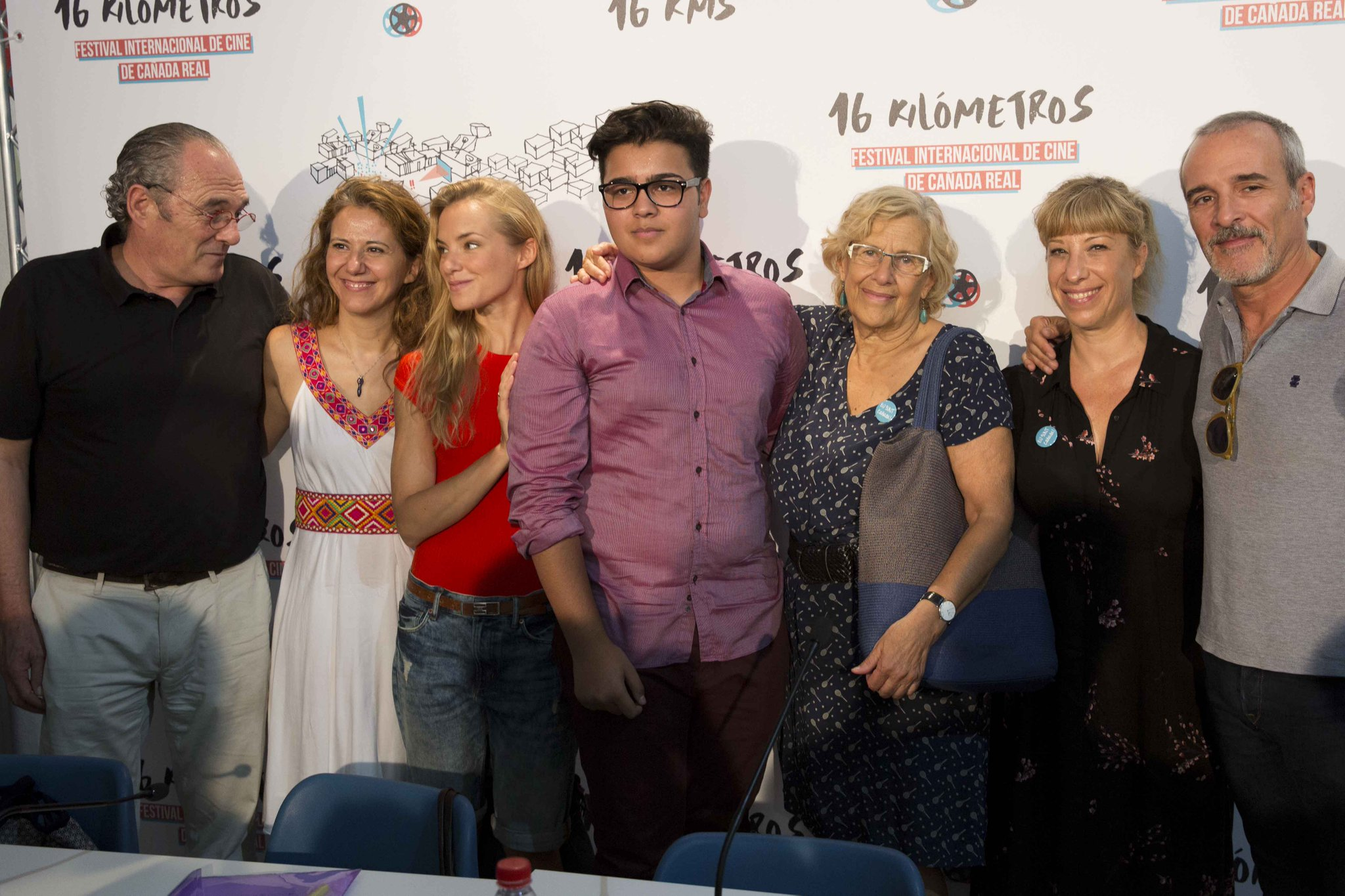 Presentación del festival de cine @Festival16kms en la Cañada Real: https://t.co/wSCoox7EC5 https://t.co/6uXFdv2nPw