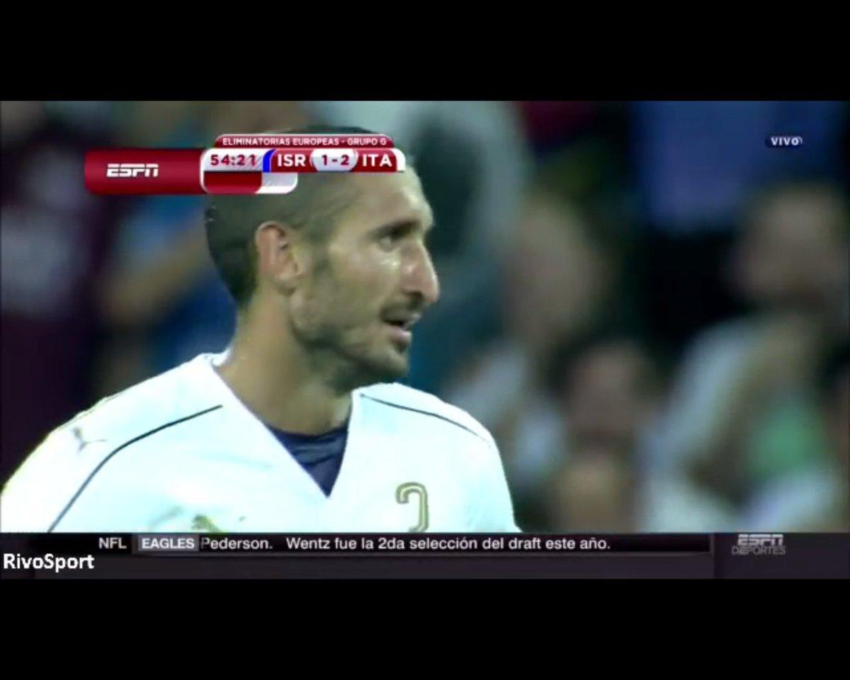 ISRAELE-ITALIA Risultato 1-3: espulso Chellini, salterà Italia-Spagna [Video Gol]