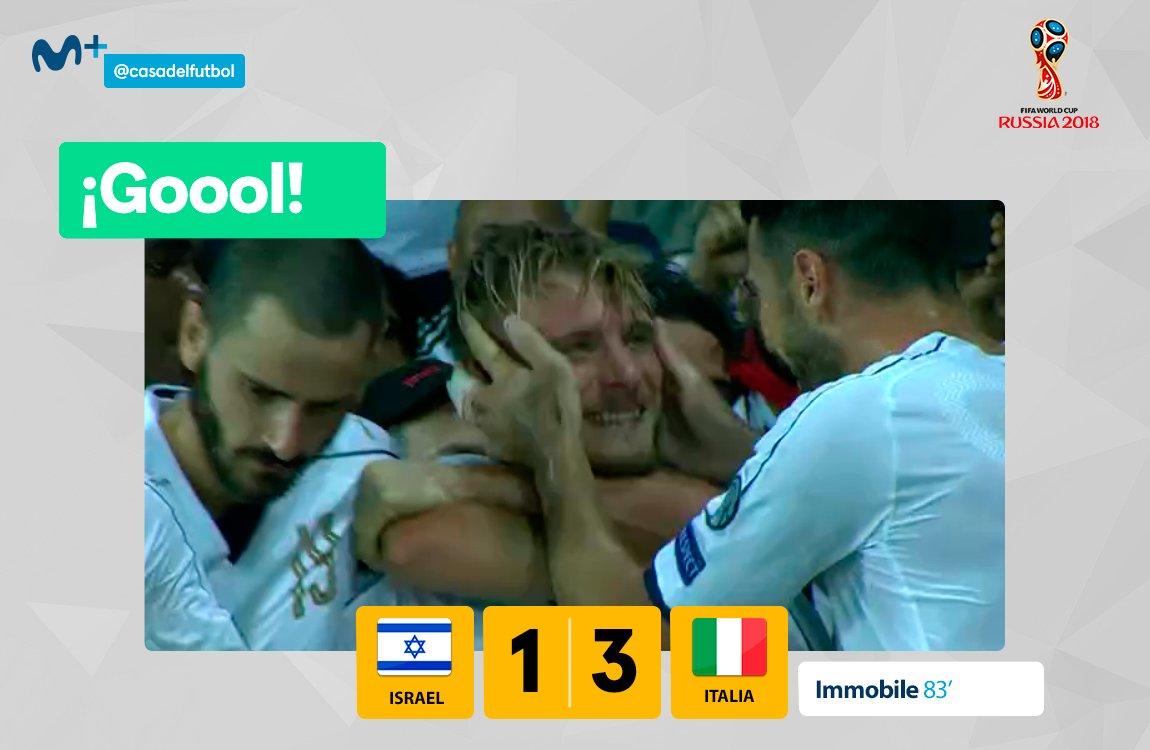 L'Italia di Ventura vince in Israele ma perde Chiellini (espulso) contro la Spagna