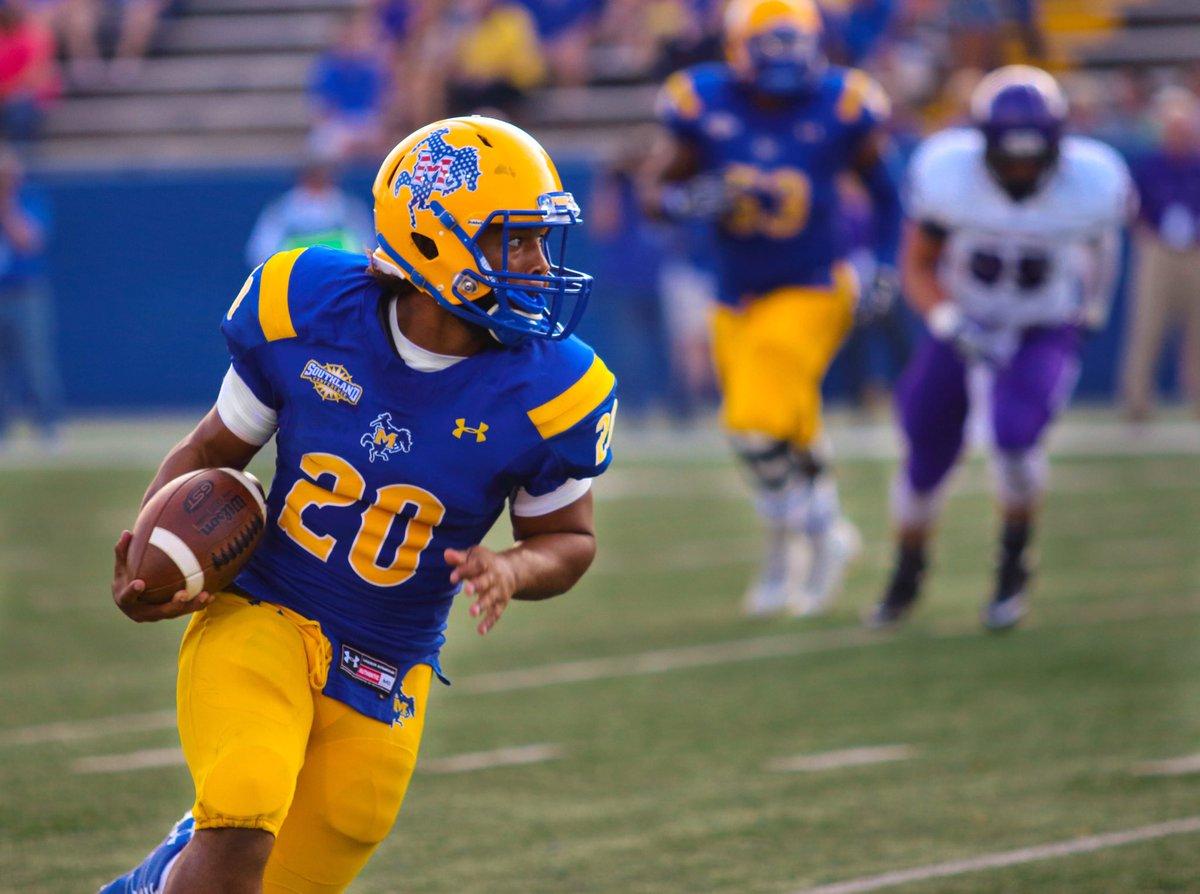 McNeese State RB Justin Pratt