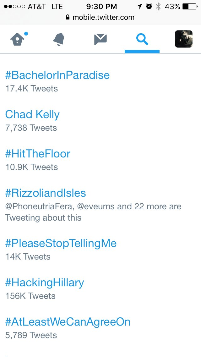 We are trending! @RizzoliIslesTNT @sashaalexander @Angie_Harmon #RizzoliandIsles https://t.co/kRGx02D77B