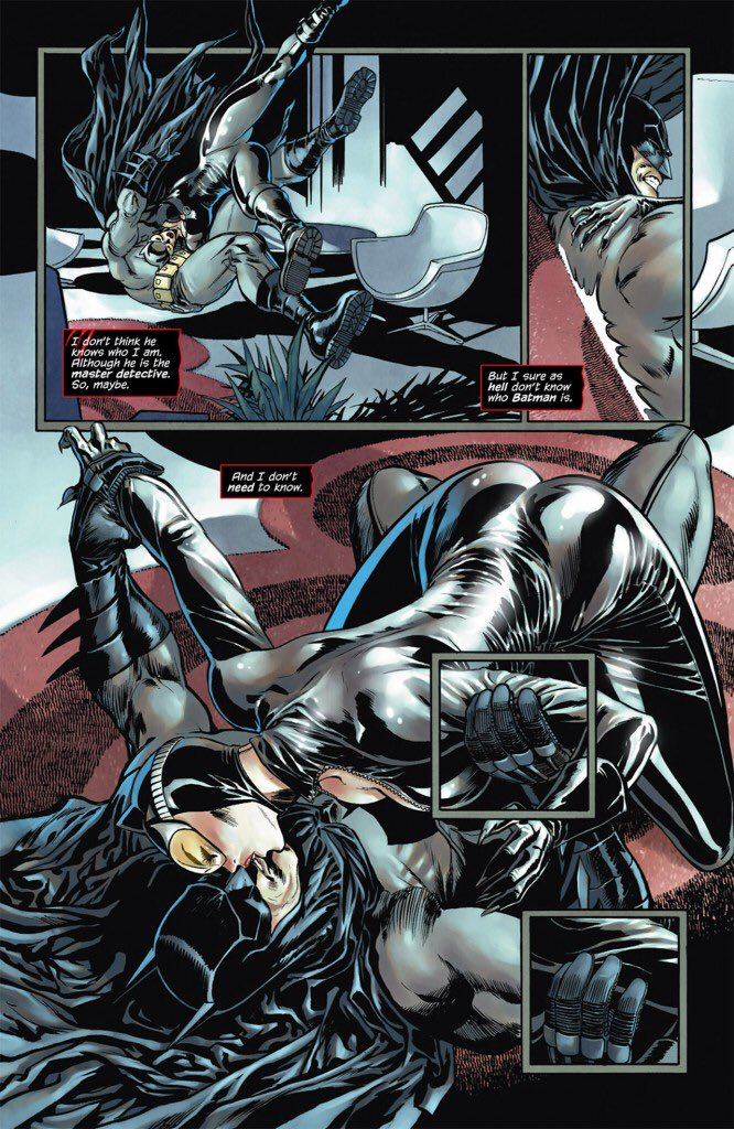 Bound batman and catwoman sex ass