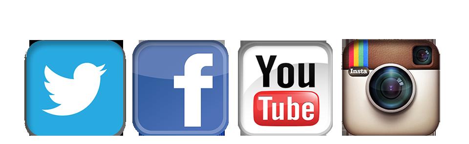 logo instagram facebook y twitter