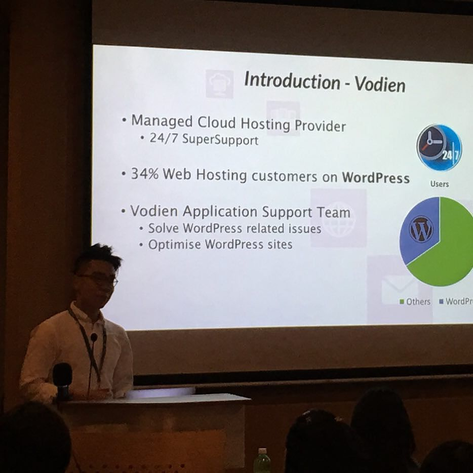 Rui Hang of @vodien on 5 tips to optimise WordPress to be faster and more secure https://t.co/BA7s2ZeGN4