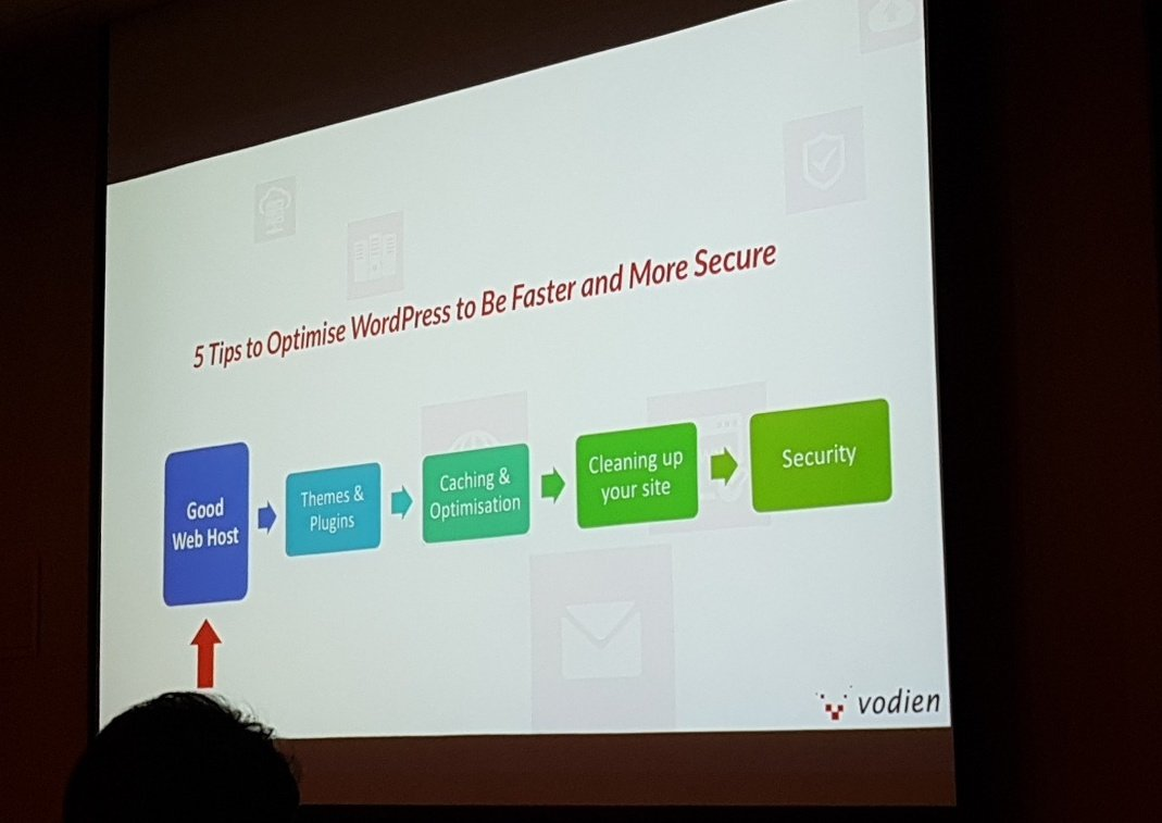 5 Tips to optimize WordPress to be faster and more secure #WordCampSG https://t.co/UGKYAQqyrP