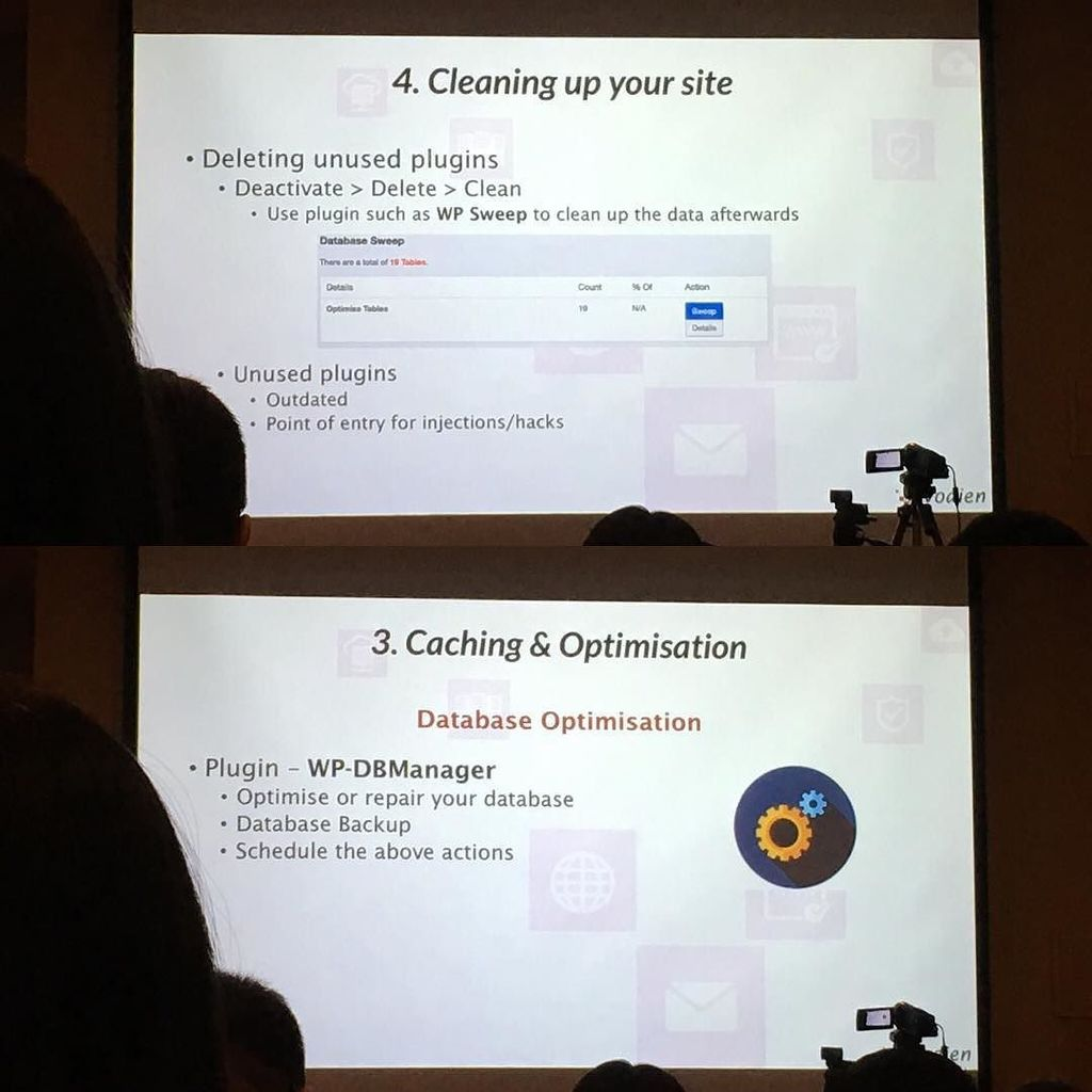 Heh! Two mentions from #WordCampSG during @vodien presentation https://t.co/ONXQTciIwg