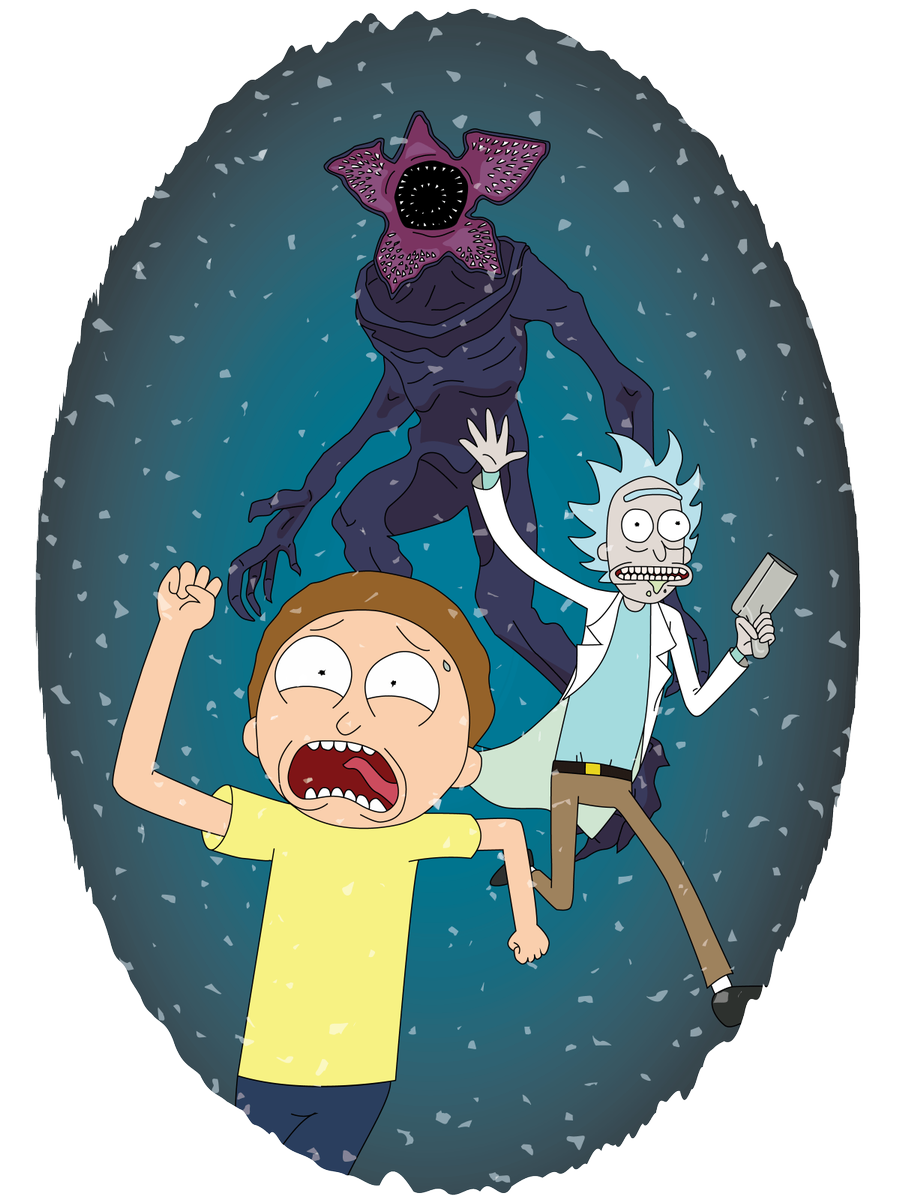 """Coming soon to interdimensional cable: """"Rick & Morty in the Upside Down"""""""