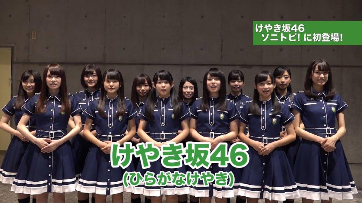 ひらがなけやき: ソニトピ!にけやき坂46が登場『ひらがなけやき』ライブシーン