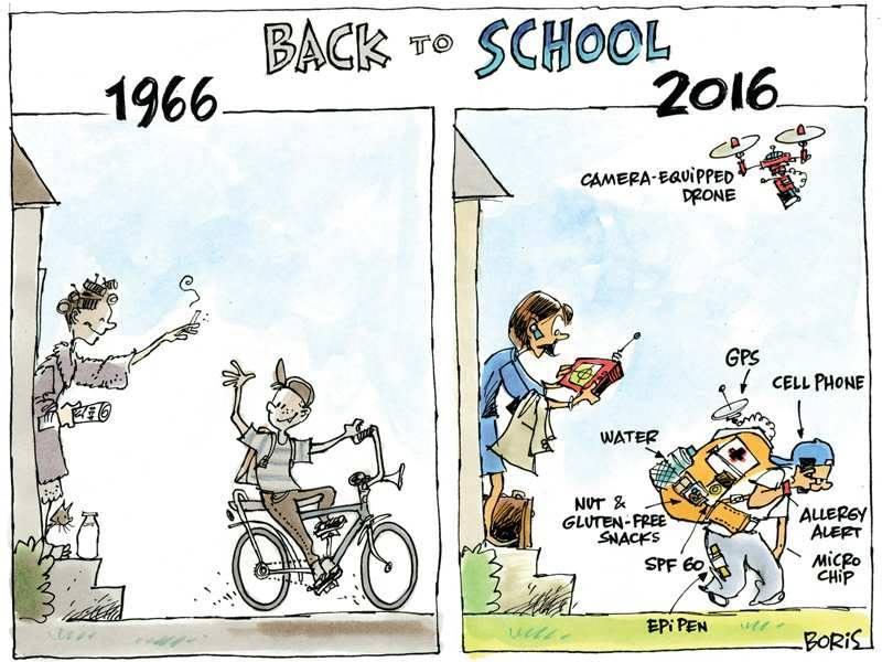 peter vermeulen on twitter back to school 1966 vs 2016
