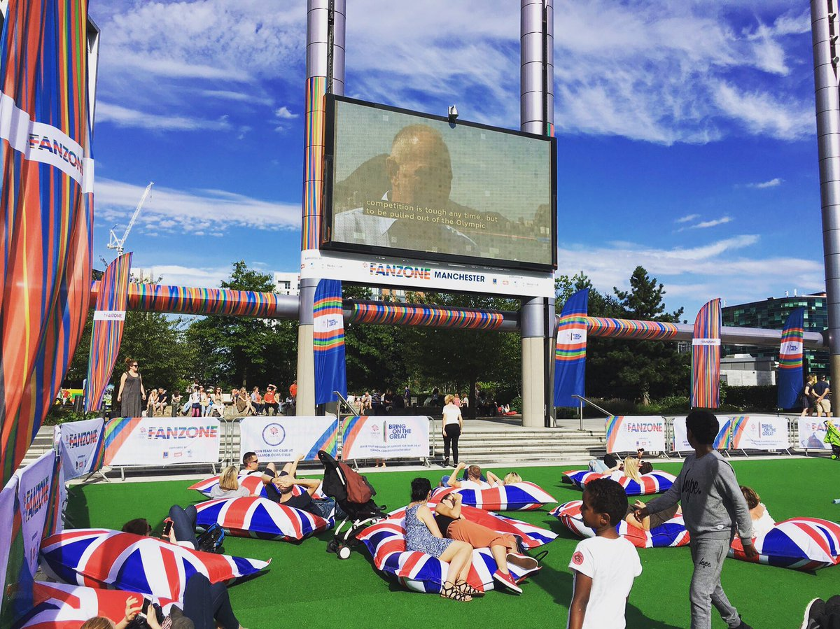 Remember the epic giant beanbags from our @TeamGB FanZone? Fancy a chance to #WIN one?  RT and follow!