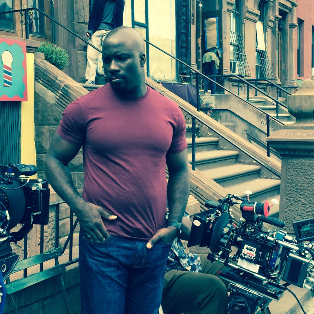 Luke Cage behind the scenes
