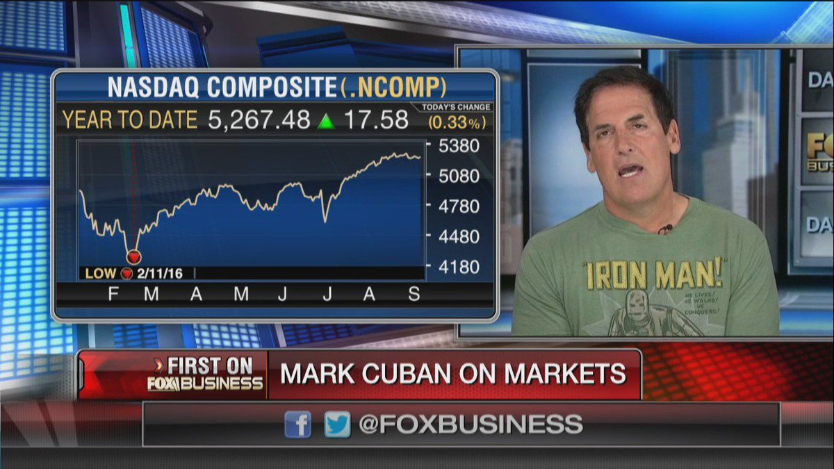 CUBAN: There is 'no doubt in my mind' the market will crash if Trump wins