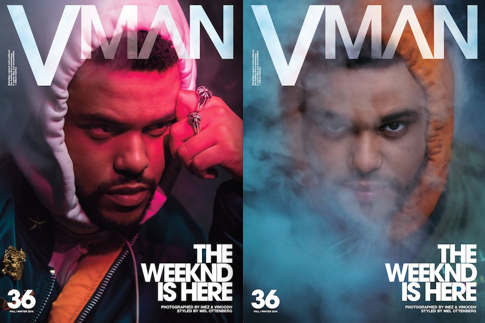 .@TheWeeknd covers #VMAN36 where he discusses new album, political views & more: https://t.co/YUIPnPUylO https://t.co/eYFkGAtjPx